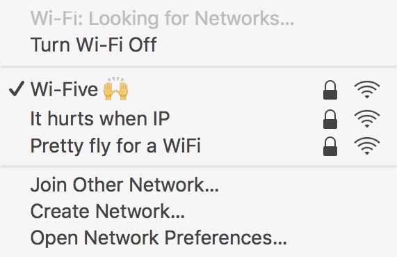 New SSID updated